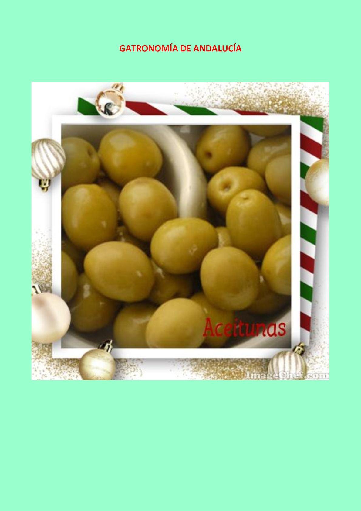 Gatronomía De Andalucía