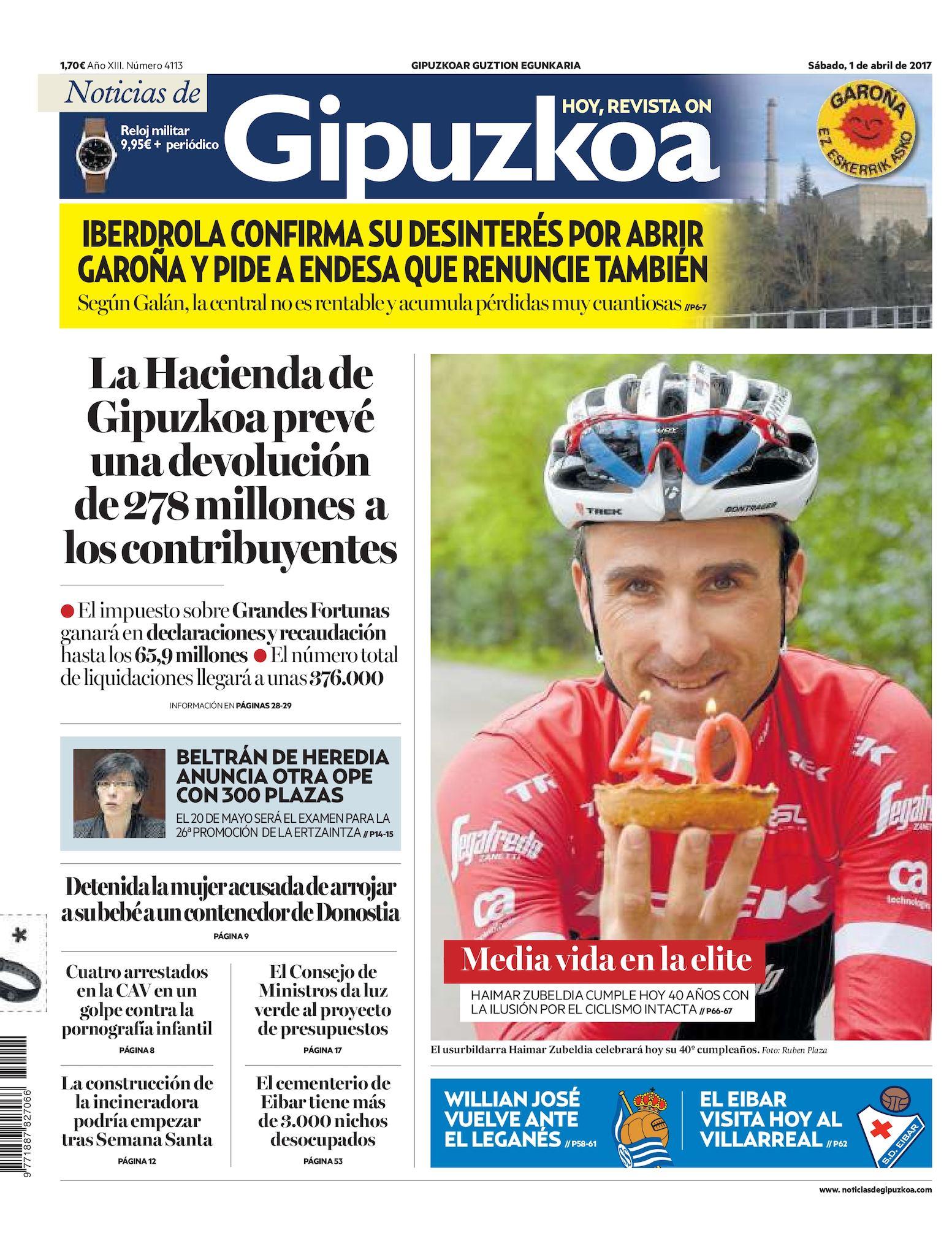 Amaranta Ruiz Culo calam�o - noticias de gipuzkoa 20170401
