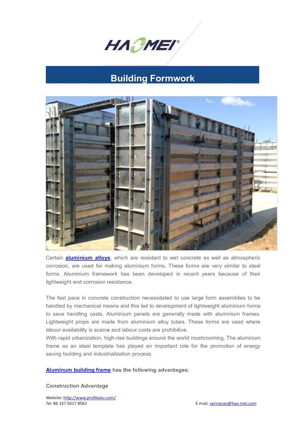 Calaméo - Building Formwork