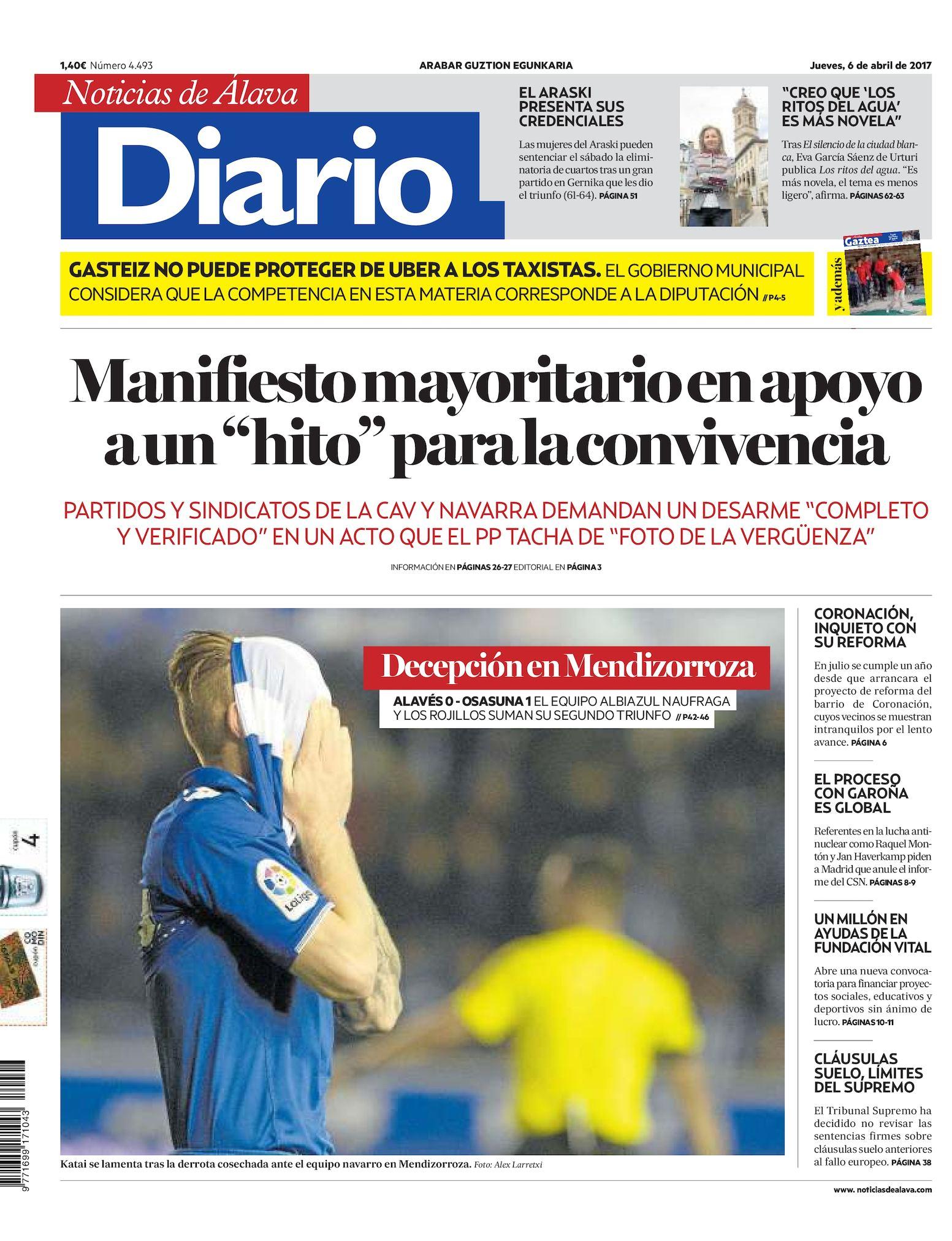 e5deb755a Calaméo - Diario de Noticias de Álava 20170406