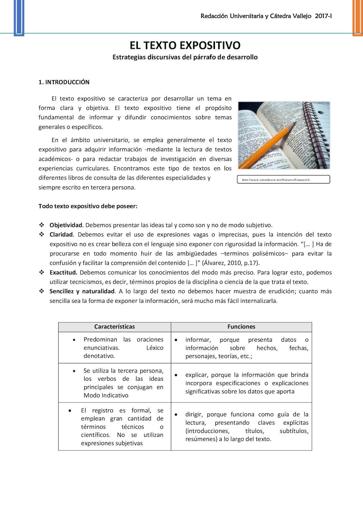 Calaméo El Texto Expositivo