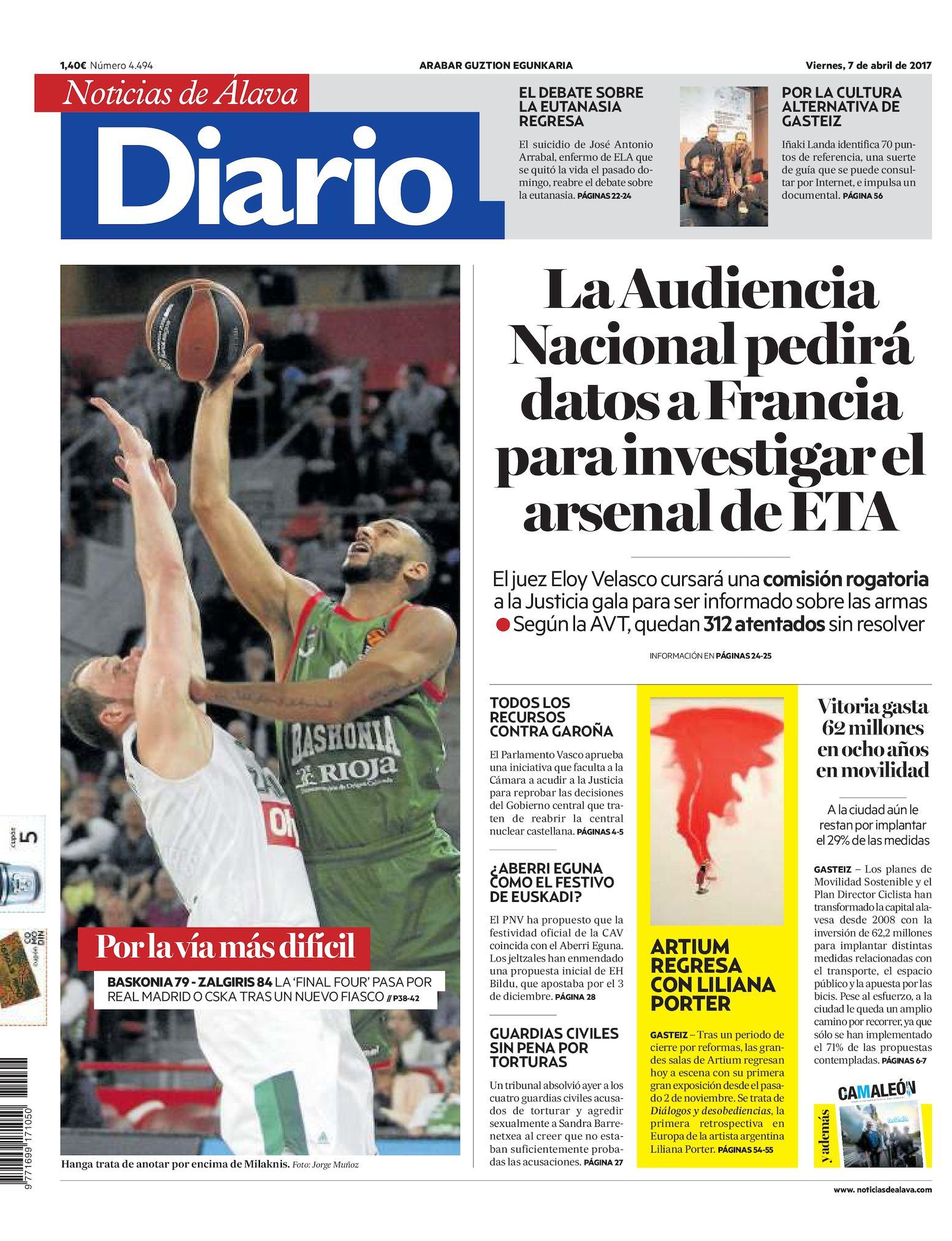 05eb72990d4 Calaméo - Diario de Noticias de Álava 20170407