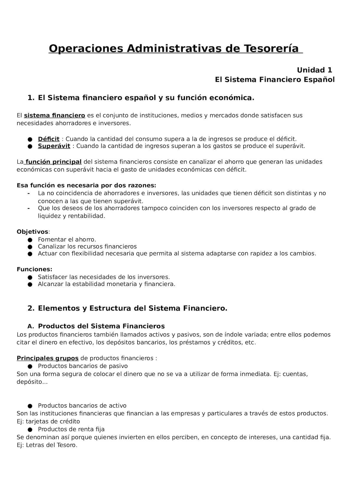 Calaméo Operaciones Administrativas De Tesorería T 1