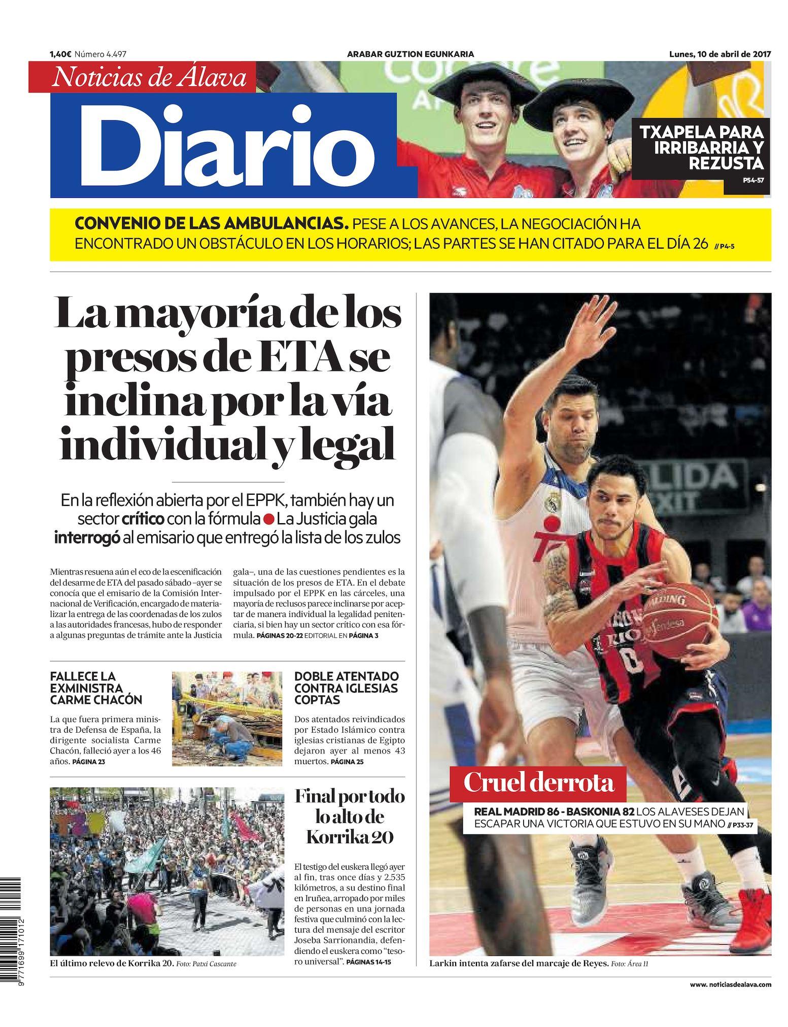 ed71a8731 Calaméo - Diario de Noticias de Álava 20170410