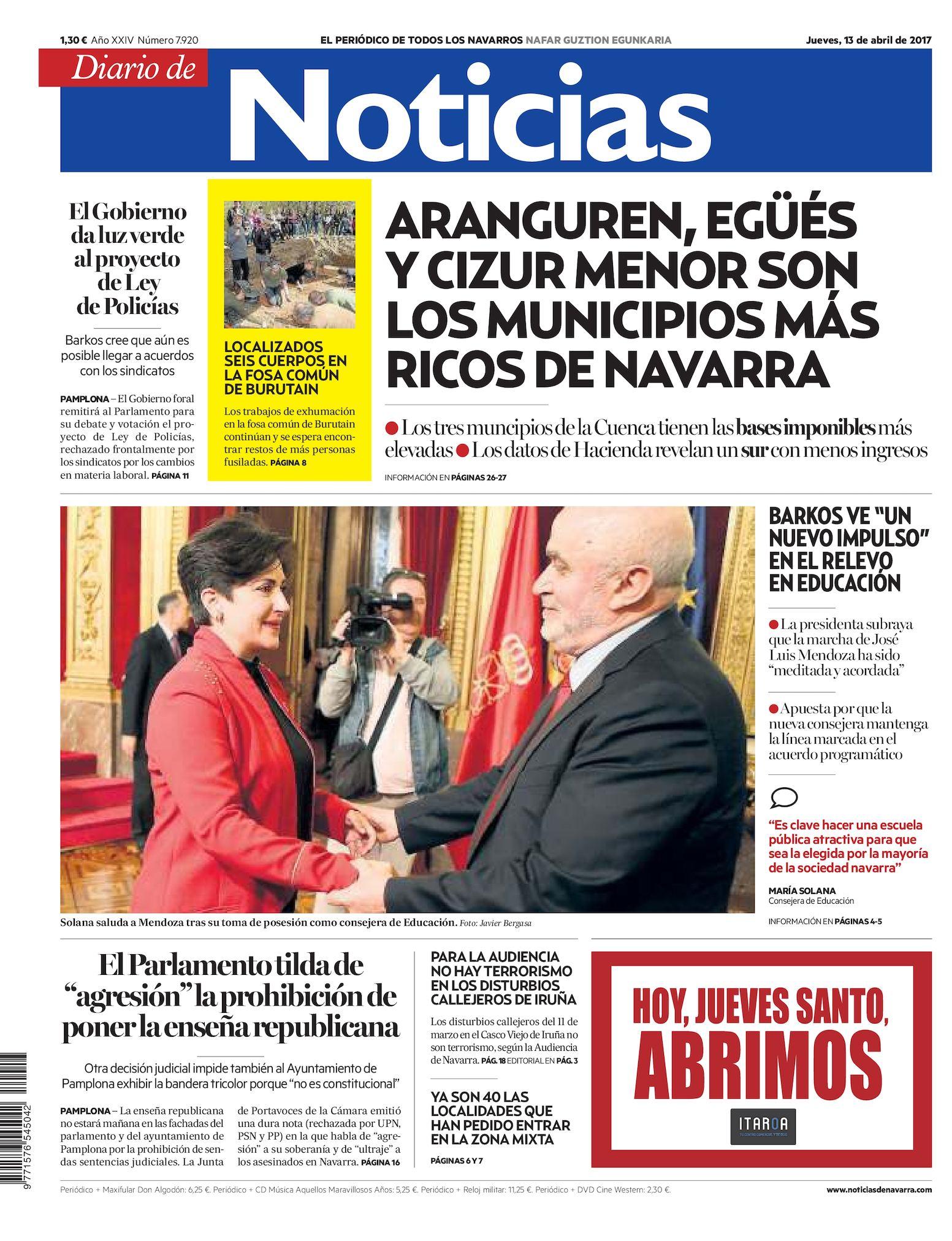 Noticias Calaméo Diario Diario De Calaméo De 20170413 Noticias YE2IWDH9