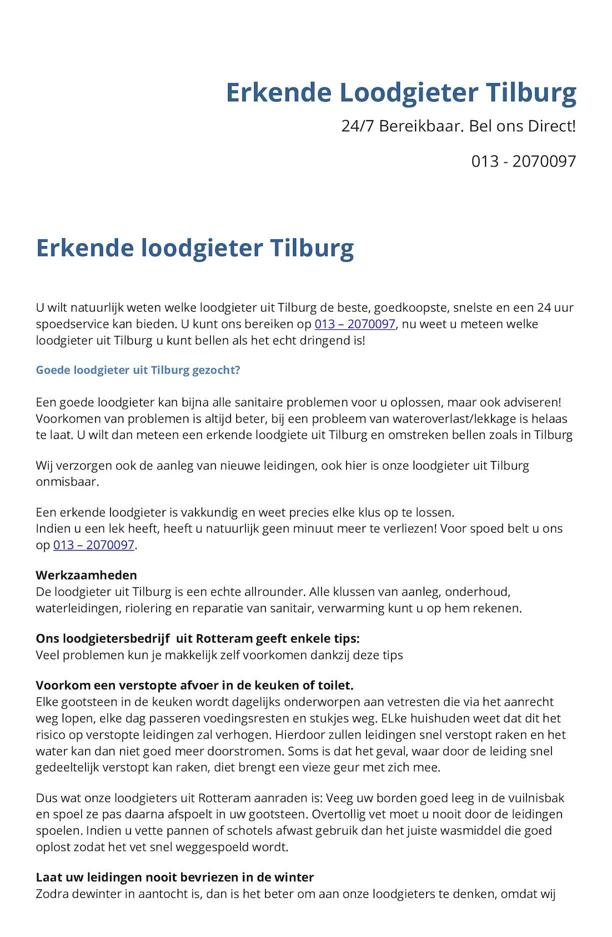 c079dd30239 Calaméo - Loodgieter Tilburg