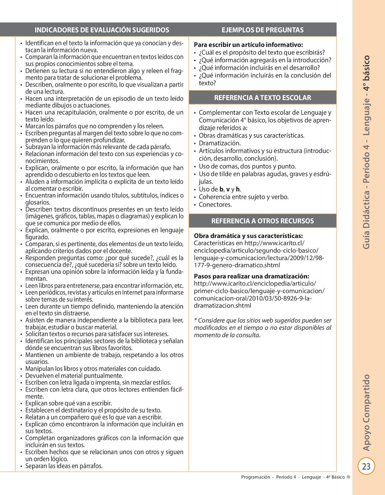 Guia Didactica 4basico Calameo Downloader