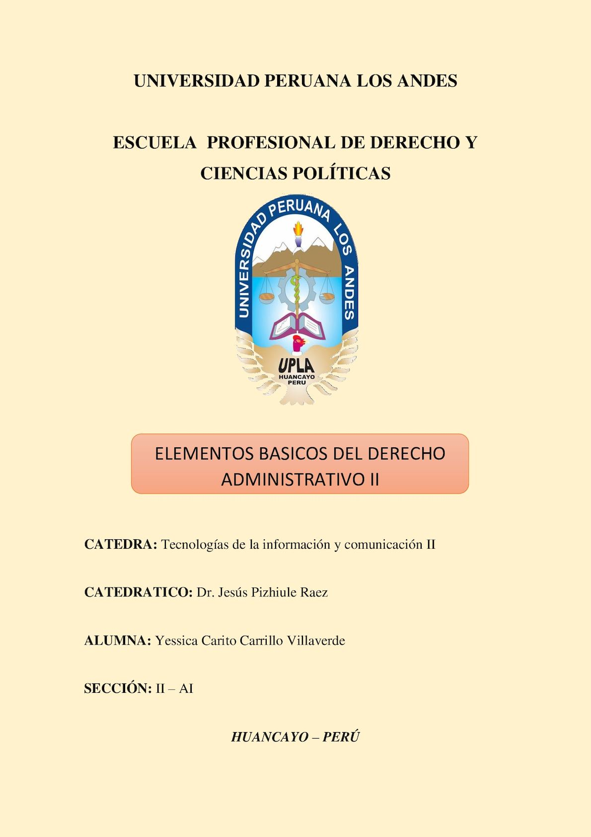 Calaméo Elementos Basicos Del Derecho Administrativo