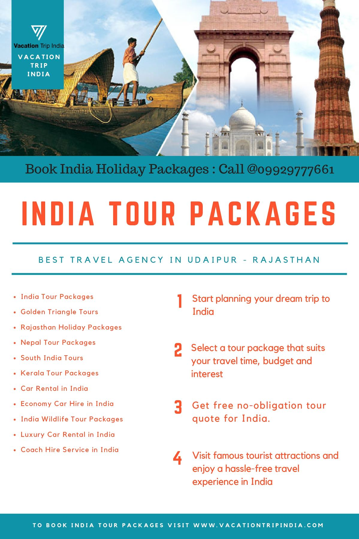 Calameo Bespoke India Tour Packages From Vacation Trip India
