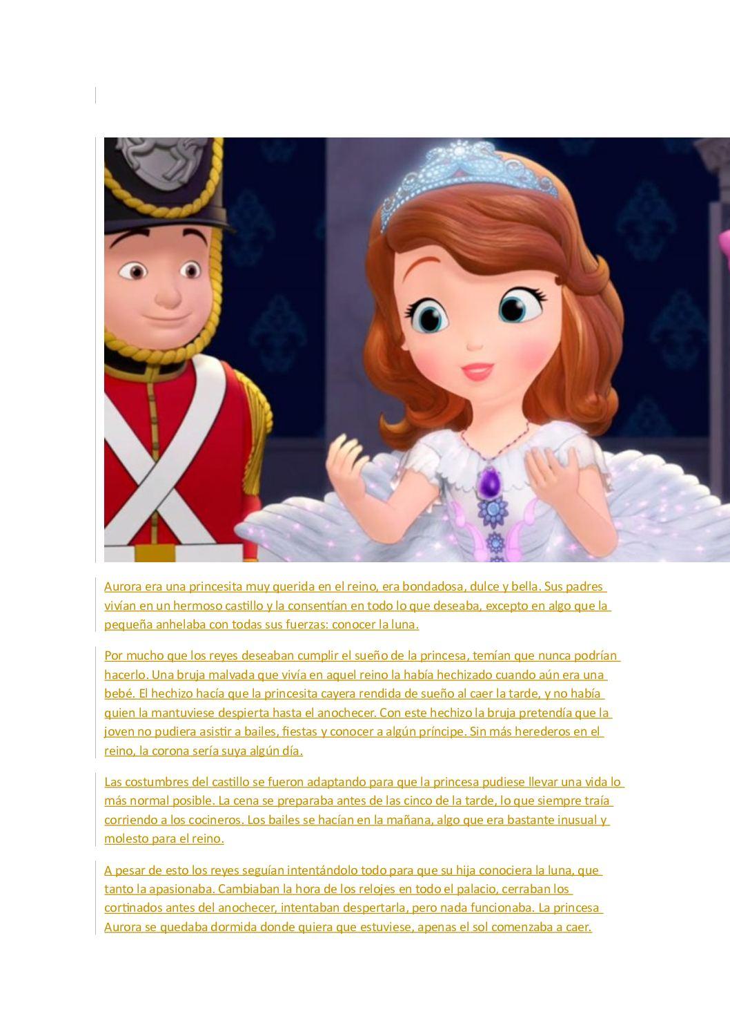 Calaméo Aurora Era Una Princesita Muy Querida En El Reino