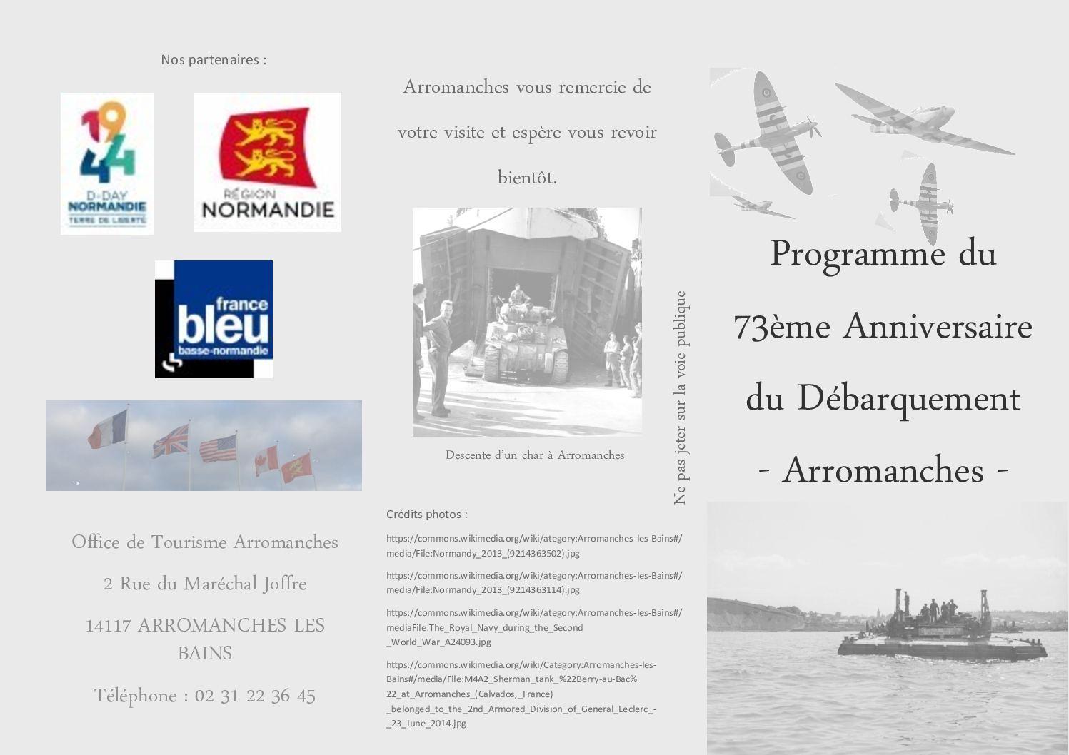 Calameo Flyer Realise Dans Le Cadre De Ma Formation