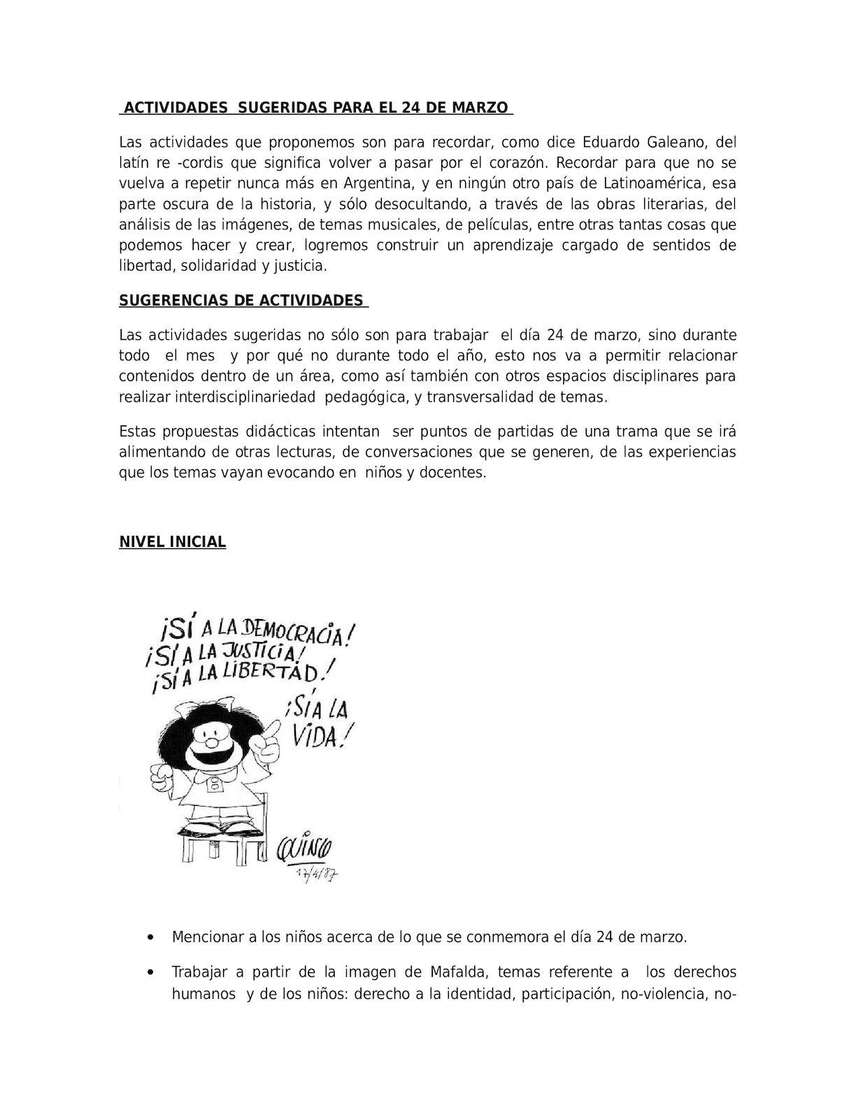 Calaméo Actividades 24 De Marzo Con Lecturas De Cuentos