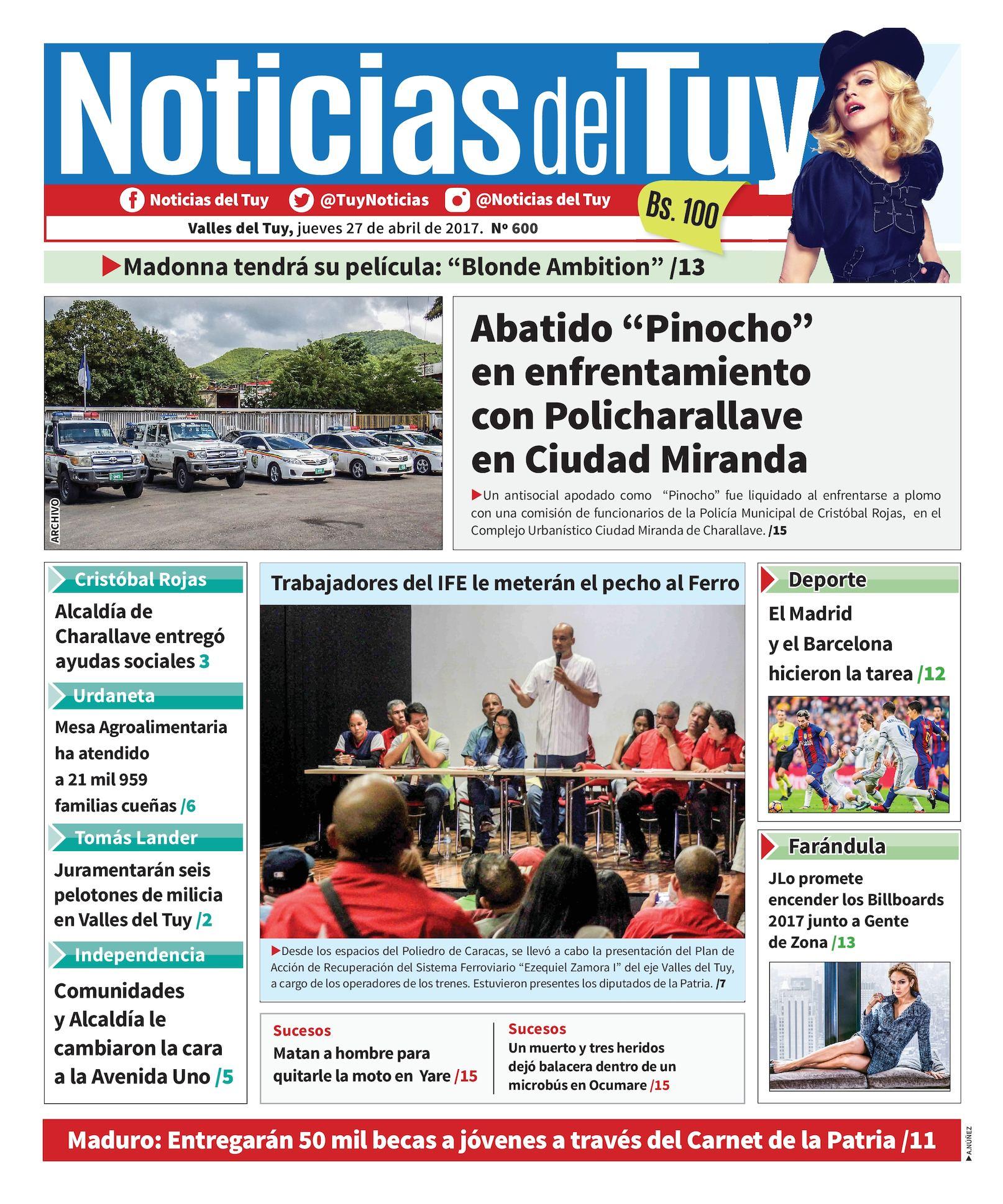 Calaméo - Noticias Del Tuy 27 De Abril 992a8641a2aea