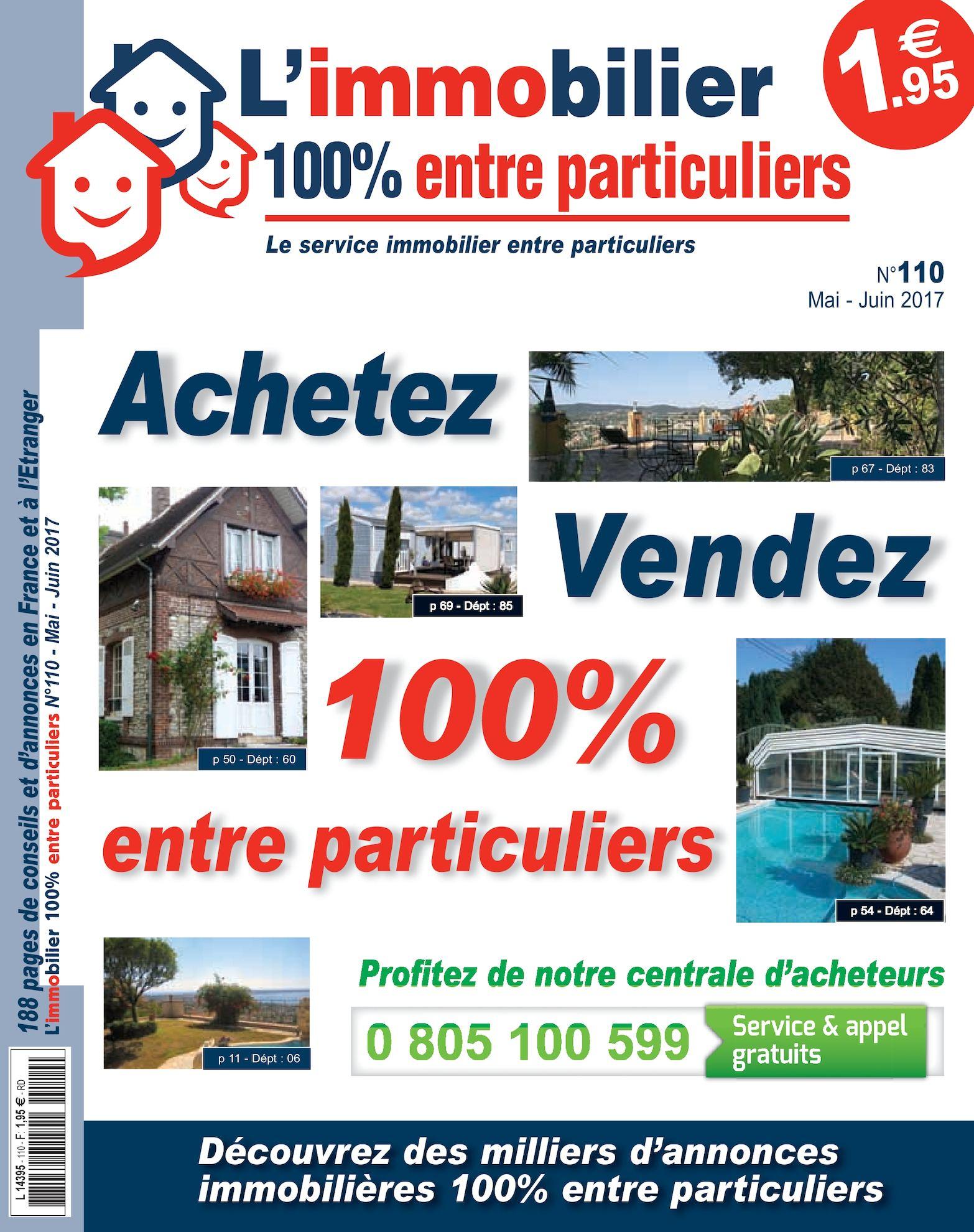 7012a51703d84 Calaméo - L immobilier 100% entre particuliers - Appelimmo-n°110-Mai-Juin  2017