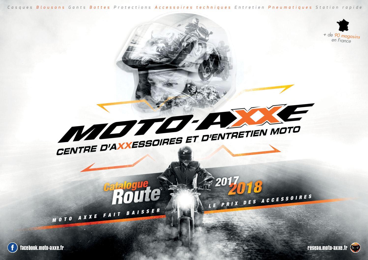 Calaméo Catalogue Général MOTO AXXE ROAD 2017 2018