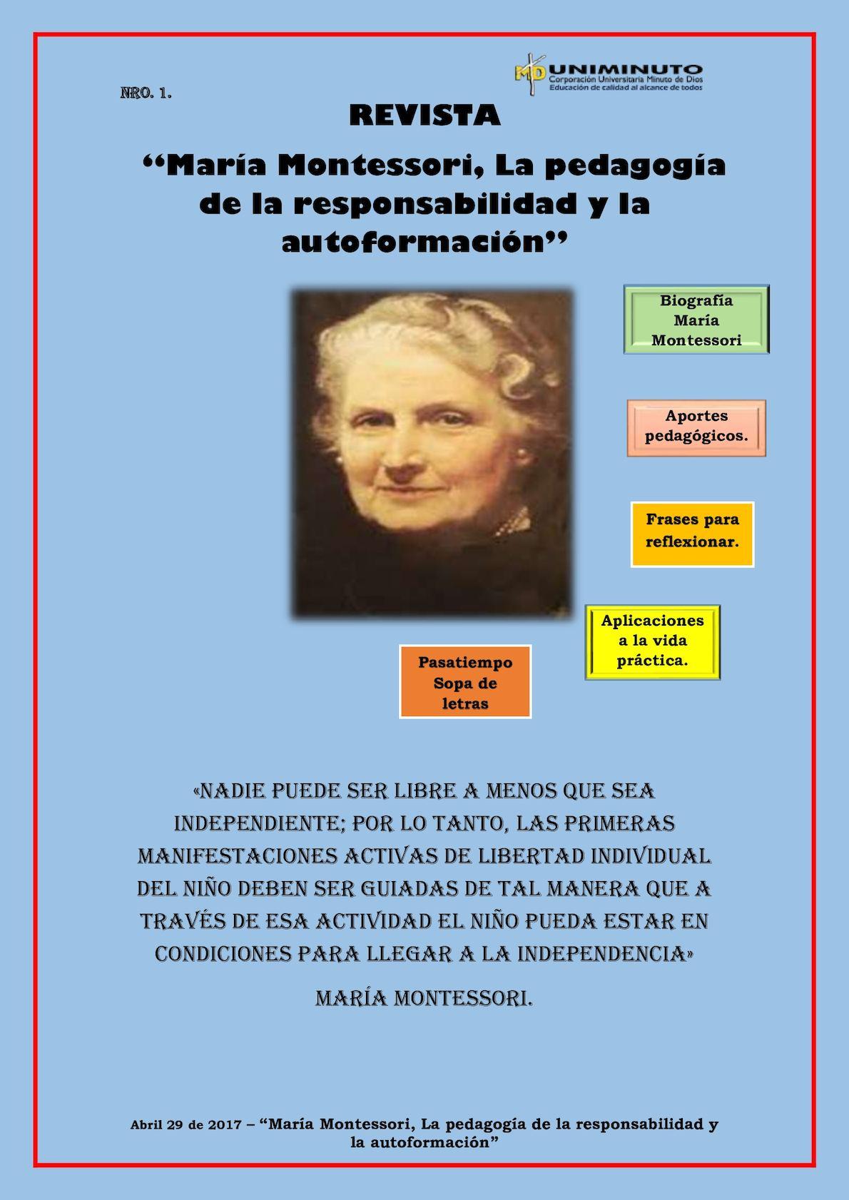 Calaméo Revista Maria Motessori