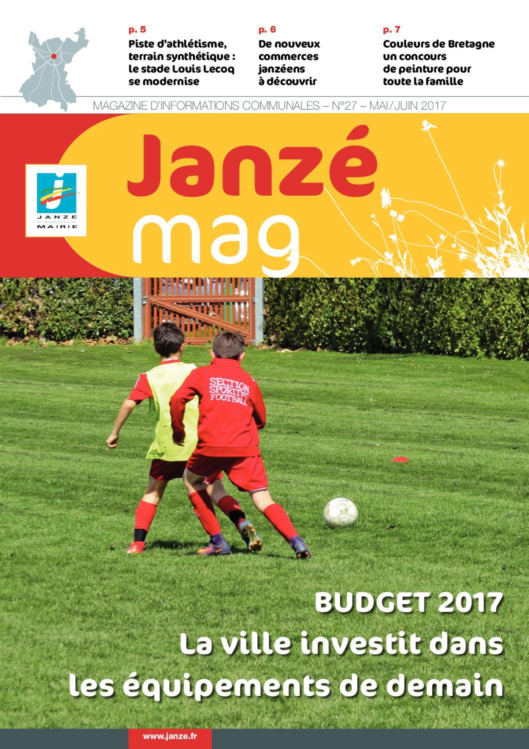 Calameo Janze Mag N 27 Mai Juin 2017