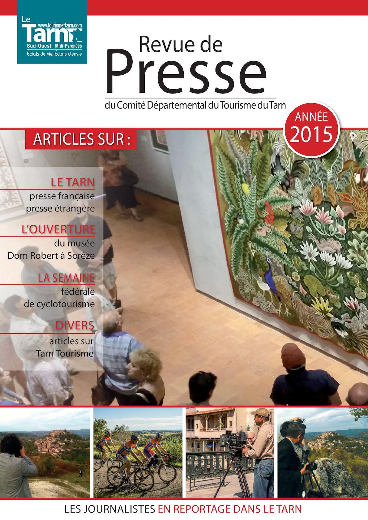 f55f422ed716 Calaméo - Revue De Presse 2015 - Tarn Tourisme