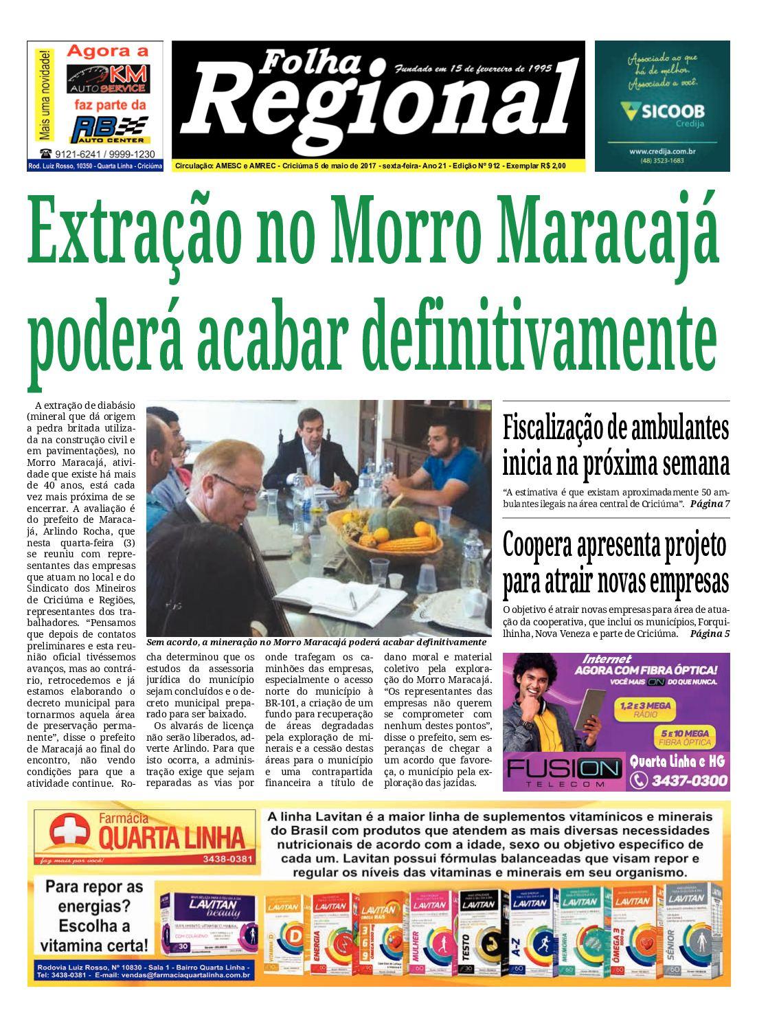 Calaméo - Folha Regional Ed.912 - 05 05 2017 ea40116f42