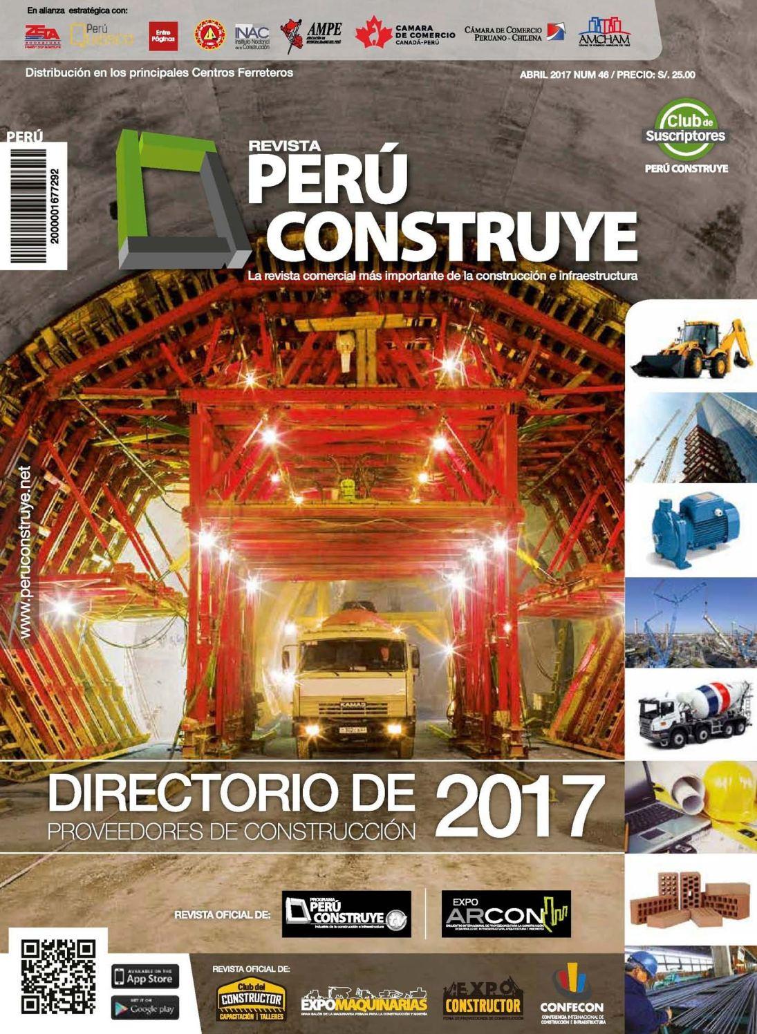 eb56d7283c6 Calaméo - Perú Construye Edición 46