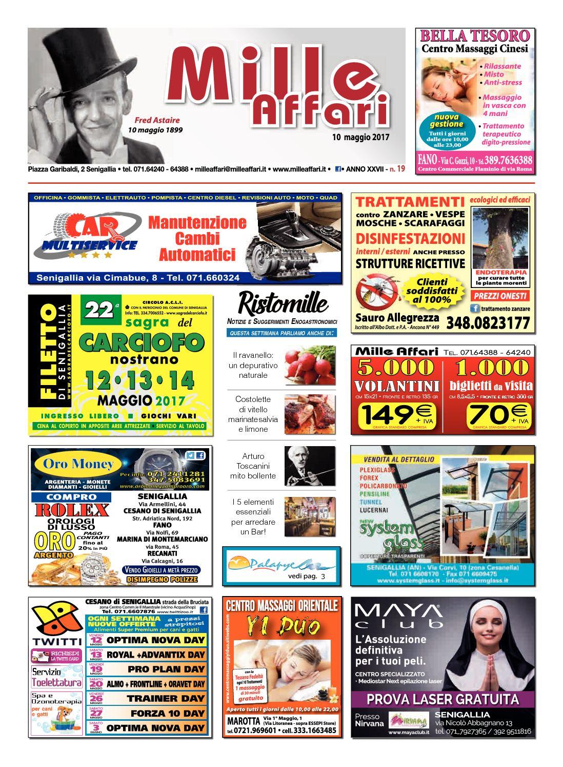 Calaméo - Milleaffari N°19 Del 10.05.17 31c46cb7881