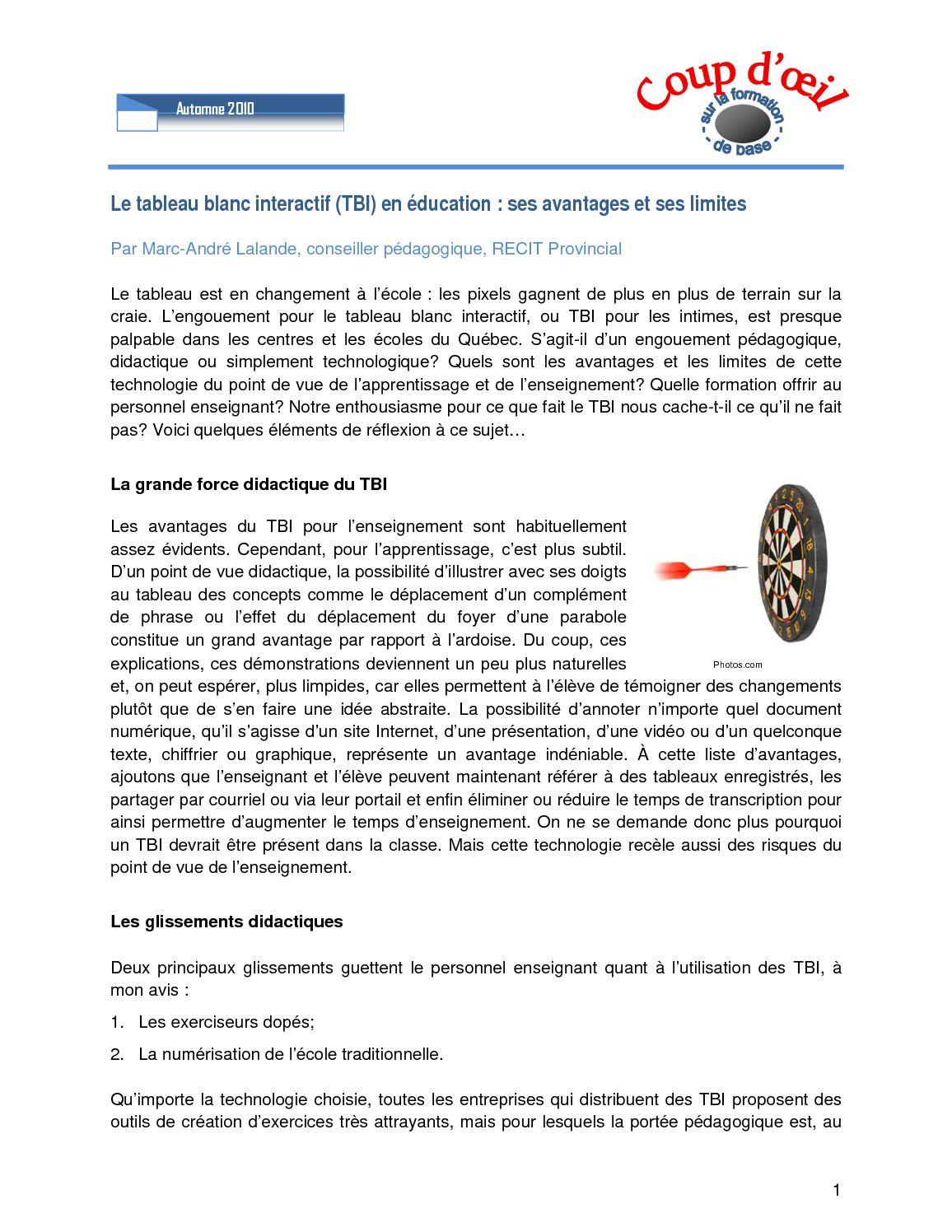 Tbi En Education