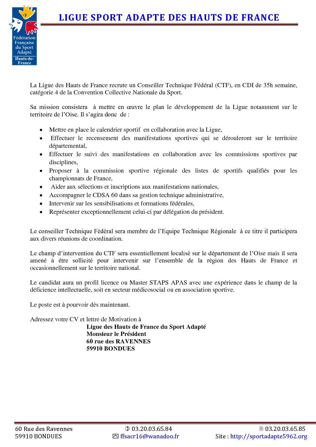 Calaméo Avril 2017 La Ligue Des Hauts De France Offre D