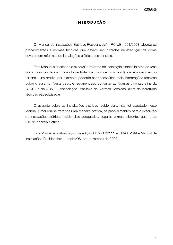 78cc580f169ed Calaméo - Eletricidade Predial E Industrial PDF - Apostila Cemig  Instalacoes Residenciais
