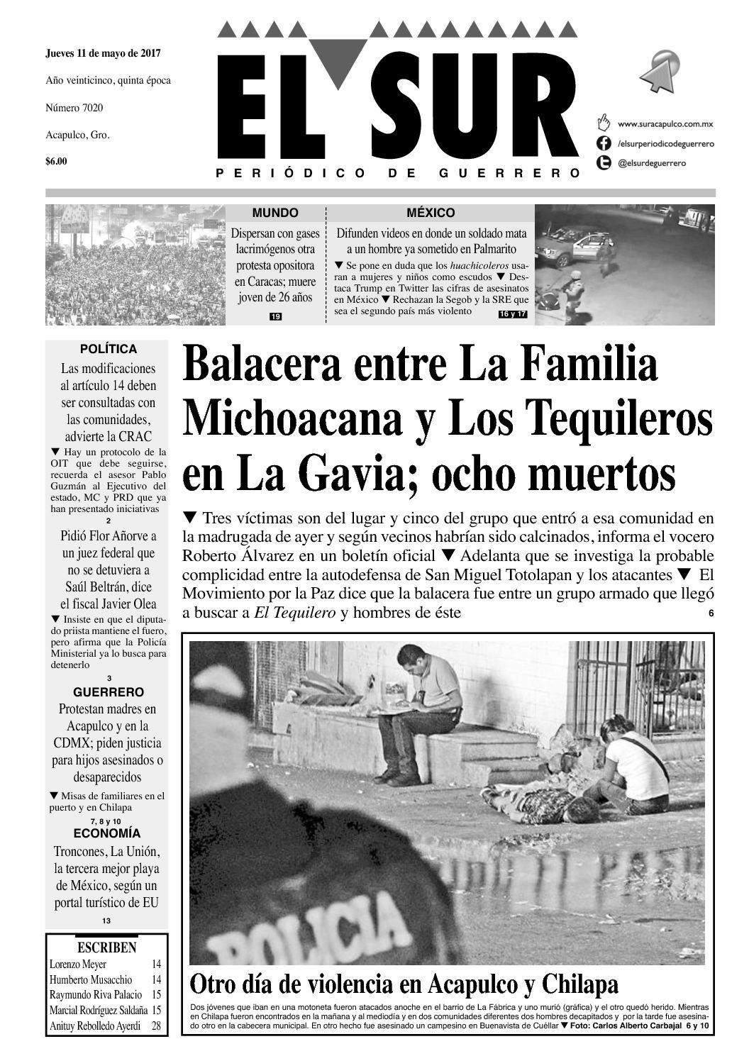 385c5f878 Calaméo - El Sur Jueves 11052017