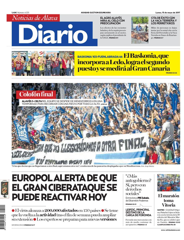 Diario Noticias Álava De Calaméo 20170515 lF1JKc