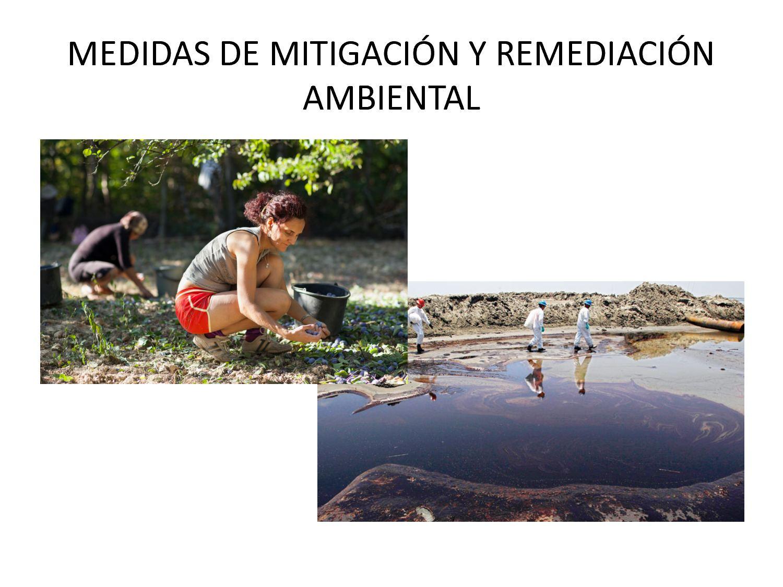 Que es mitigación ambiental
