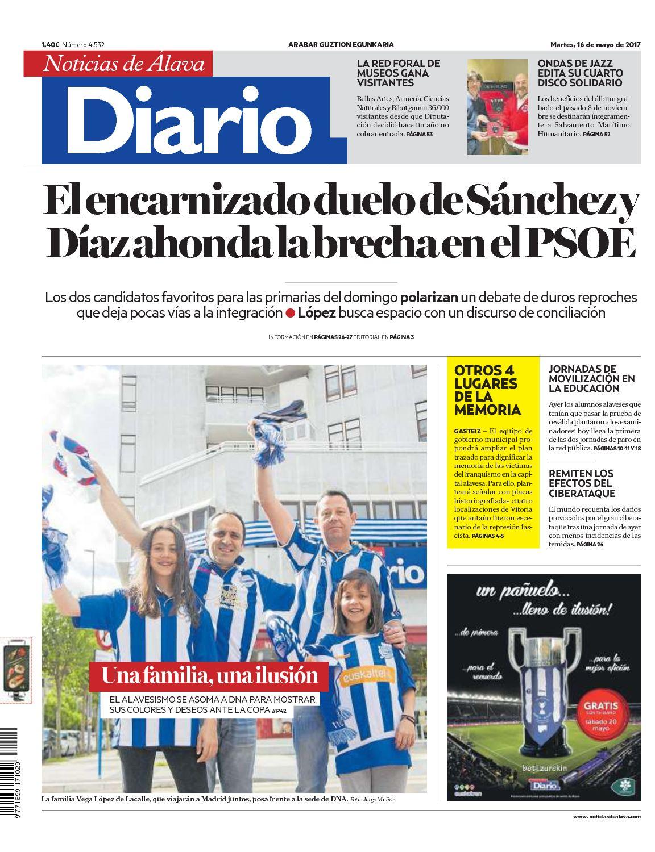 4a06a2505e Calaméo - Diario de Noticias de Álava 20170516