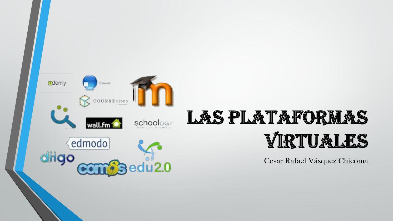Las Plataformas Virtuales