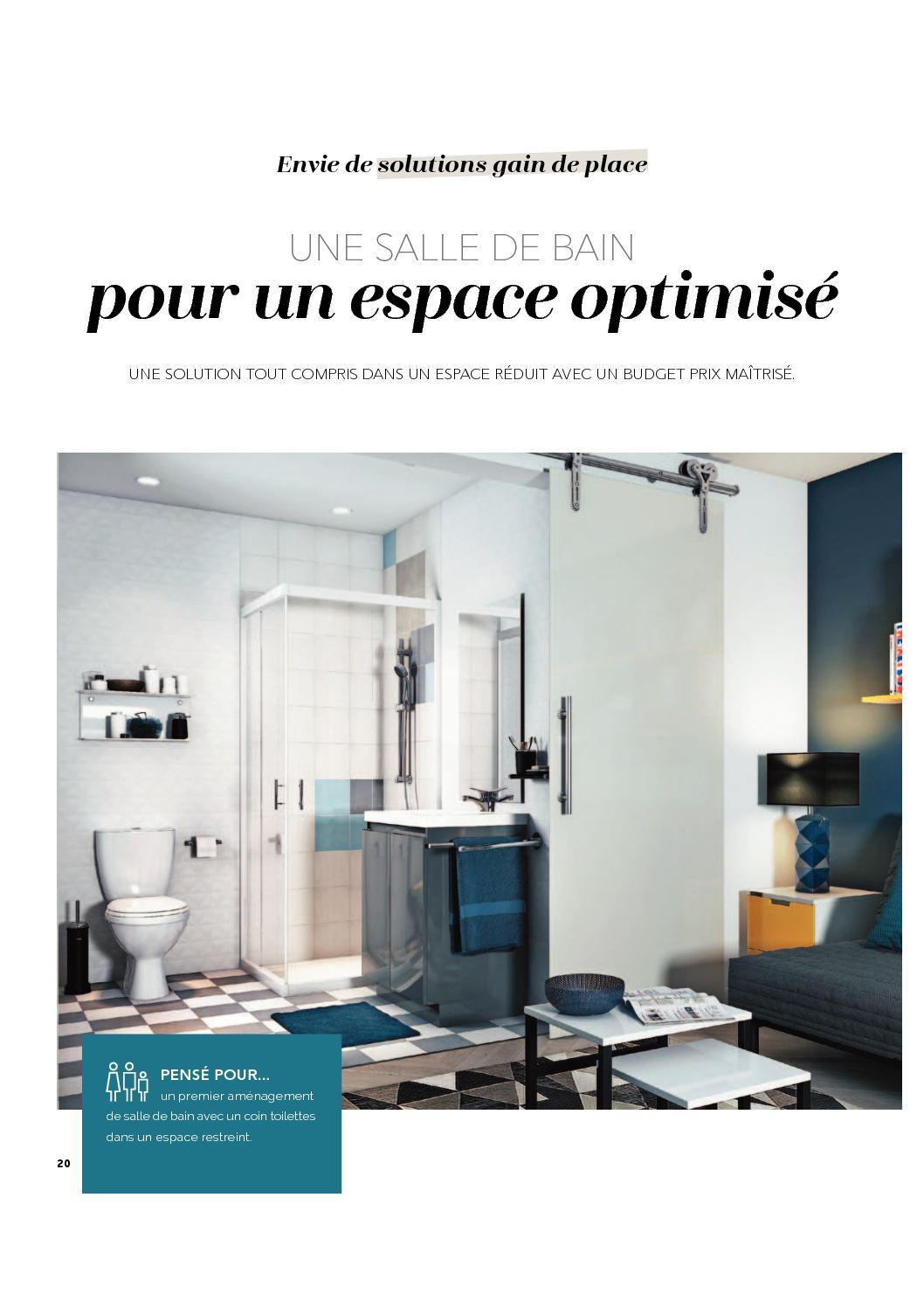 Toilette Gain De Place cédéo salle de bain 2017 - calameo downloader