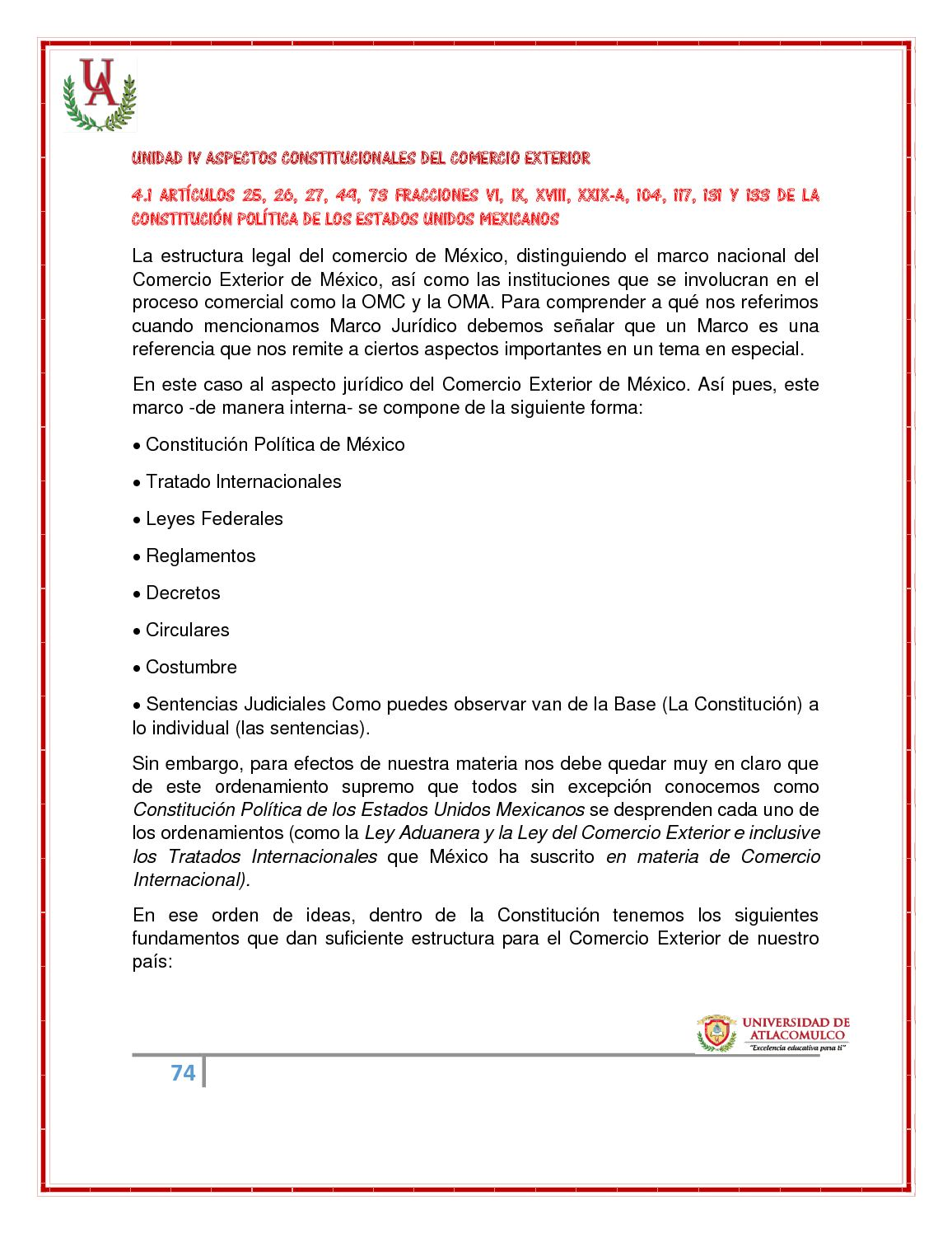 Régimen Jurídico Del Comercio Exterior Calameo Downloader