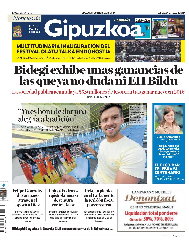 Calameo Noticias De Gipuzkoa 20170520