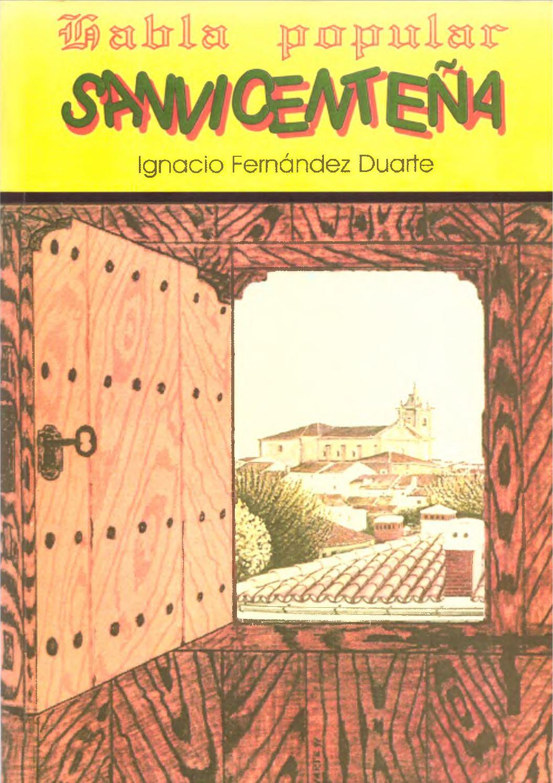 Calaméo - Habla popular sanvicenteña por Ignacio Fernández Duarte 7b9f690a8a8
