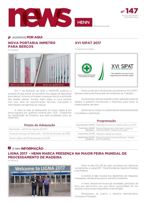 Calaméo News Henn 147 Maio Web