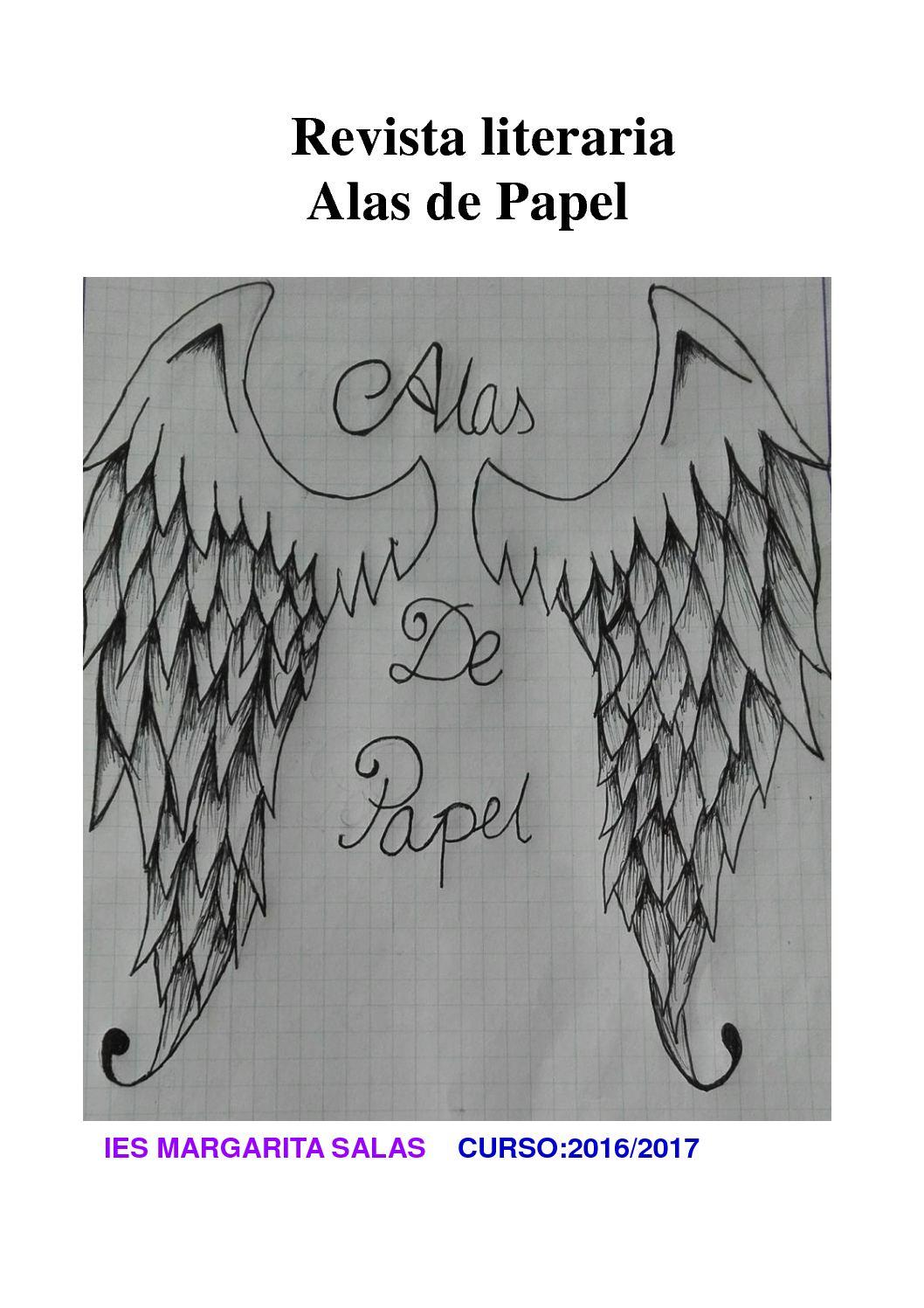 Calaméo Revista Literaria I Alas De Papel