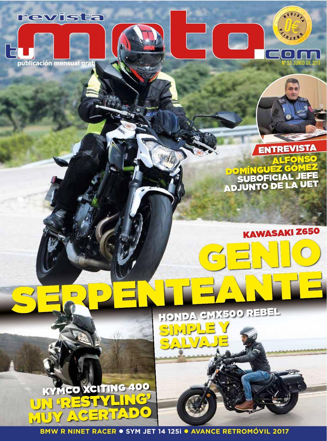 deff5525 Calaméo - Revista Tu Moto Nº 53 Mes De Junio De 2017