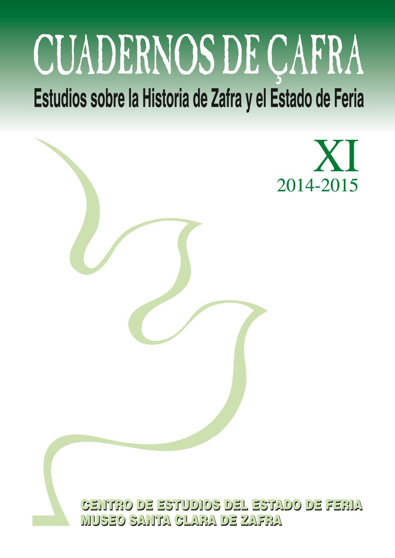 Calam O Cuadernos De Afra Estudios Sobre La Historia De Zafra  # Muebles Tusell Medina Campo
