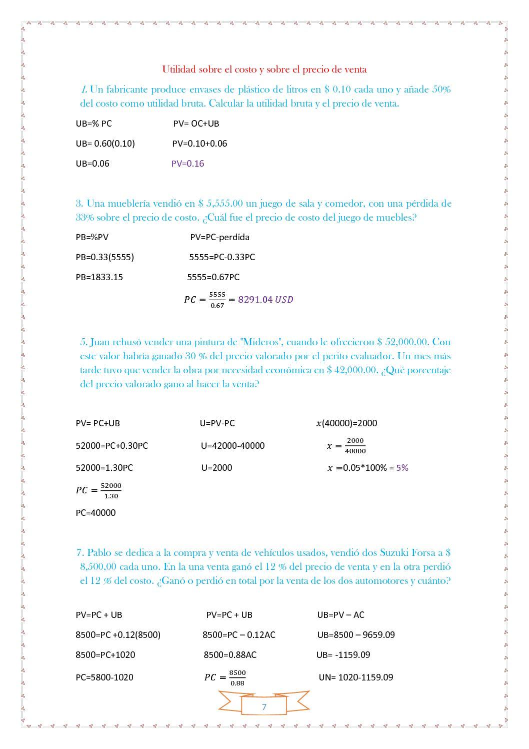 Cuaderno De Matematica Financiera I 1 Hemisemestre Calameo  # Le Font Muebles