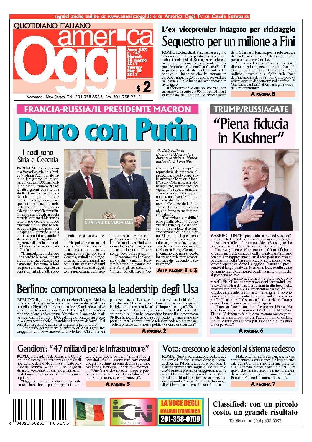 Calaméo - America Oggi 30 Maggio 2017 747f730fdf43