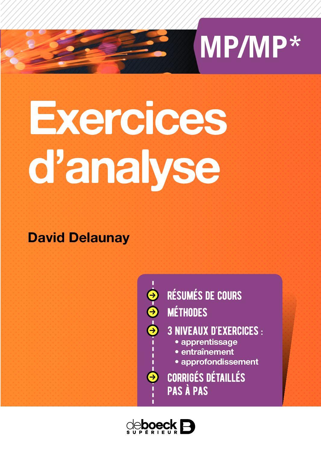 calameo exercices danalyse mpmp