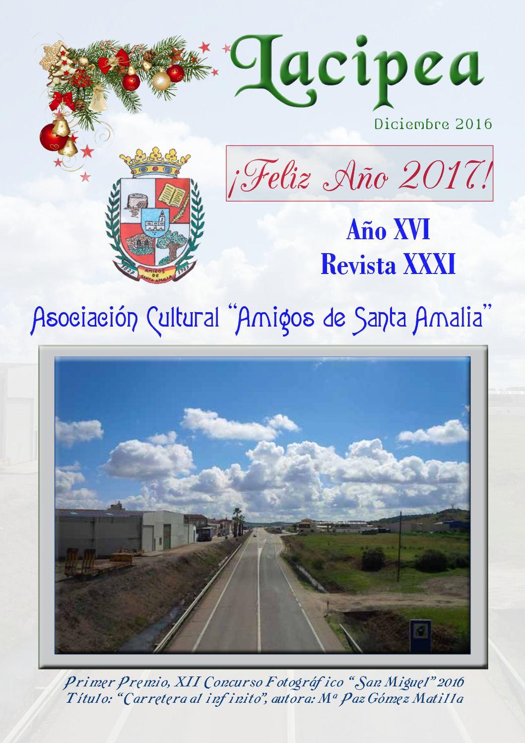 Dic Lacipea De 2016 Calaméo Santa Revista Amalia 3LRjq5A4