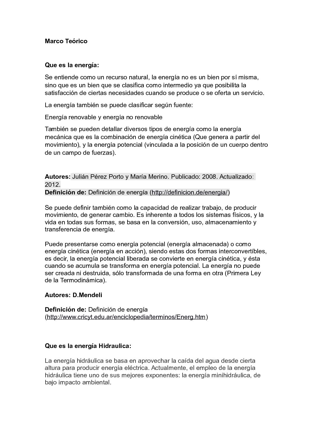 Calameo Marco Teorico Proyecto