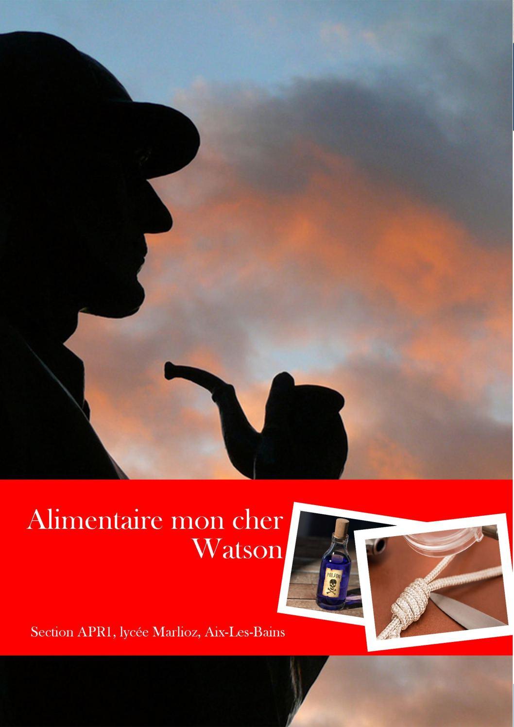 Calaméo - Alimentaire Mon Cher Watson Apr1