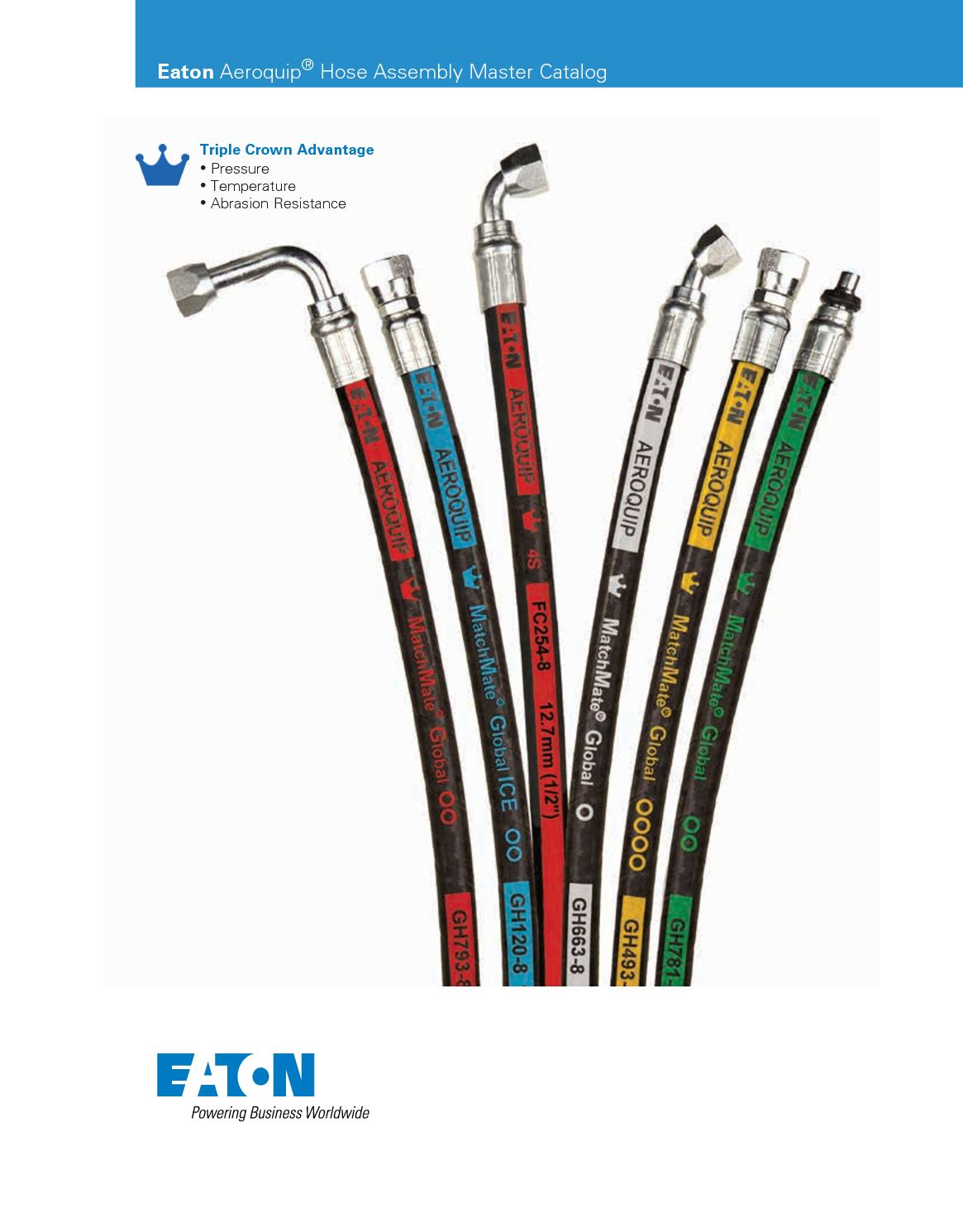 """3//8/"""" x 32/"""" 2-Wire with 5,000 hydraulic Hose Assembly with 2 Female JIC Swivel"""