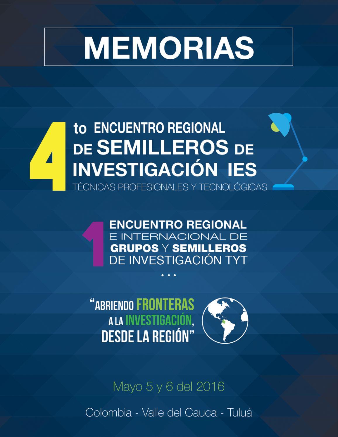 Calaméo - Memorias Cuarto Encuentro Semilleros Aciet dfa0a95bb4ad