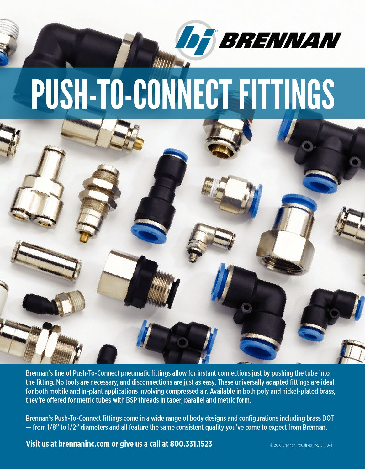 Calaméo - BRENNAN / PUSH-TO-CONNECT FITTINGS